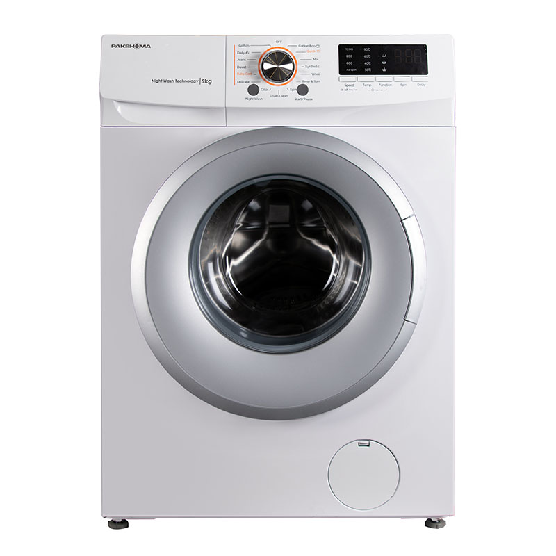 لباسشویی TFU-63100 سفید درب سیلور 6 کیلوگرم