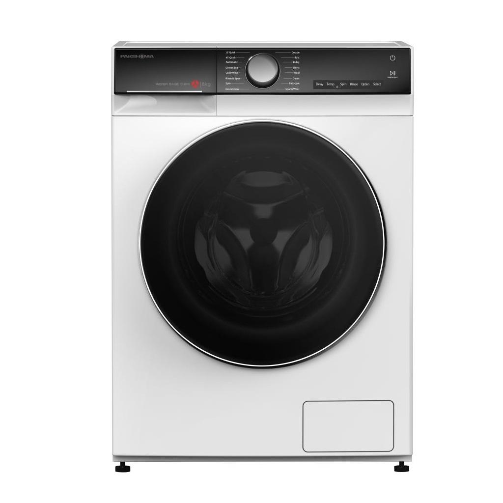ماشین لباسشویی TFU-85402 سفید 8 کیلوگرمی