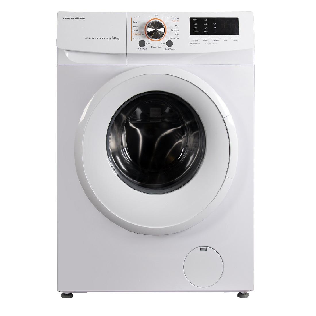 ماشین لباسشویی TFU-63100 سفید درب سفید 6 کیلوگرم